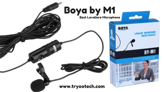 Boya by M1 microphone review