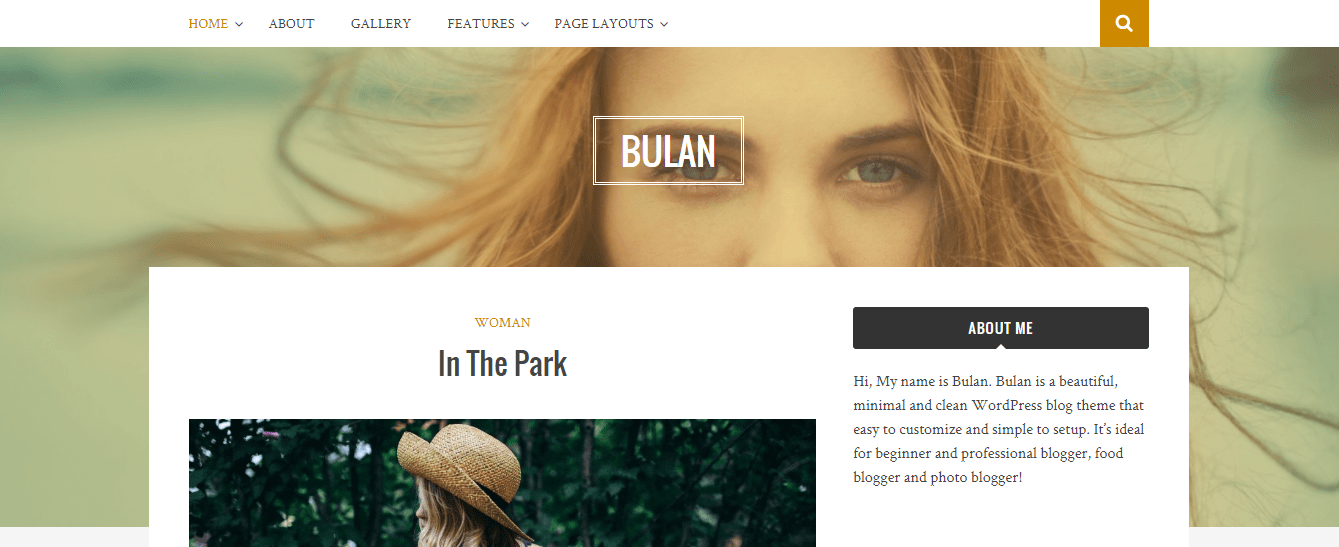 bulan theme wordpress