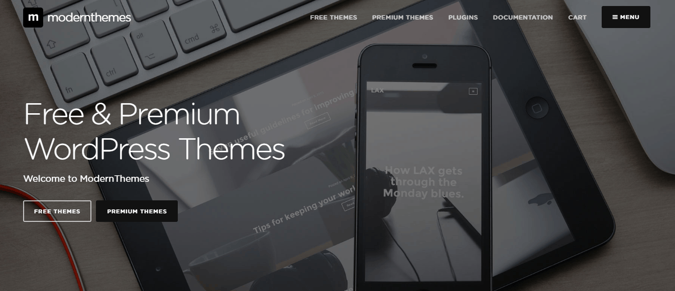 modernthemes wordpress
