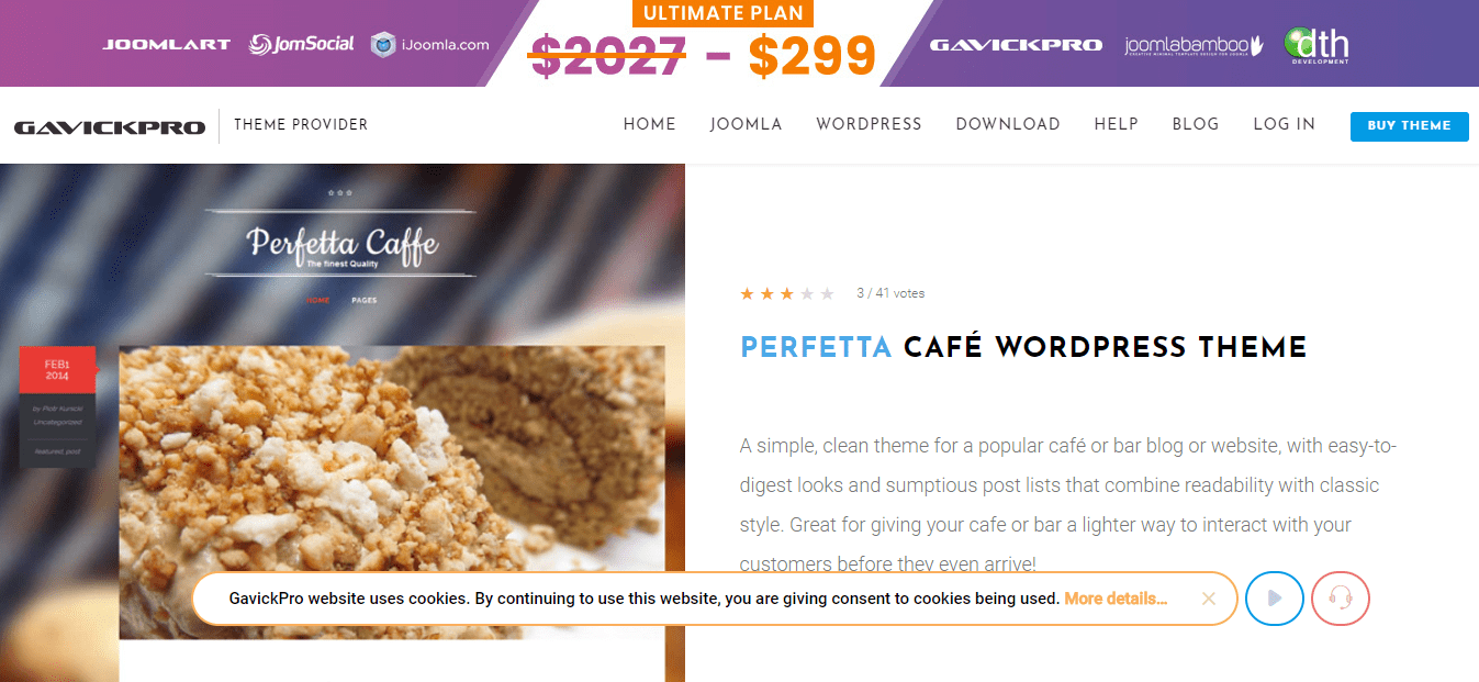 perfetta theme wordpress