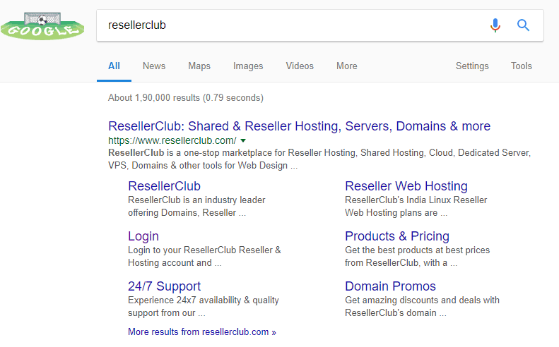 reseller club hosting