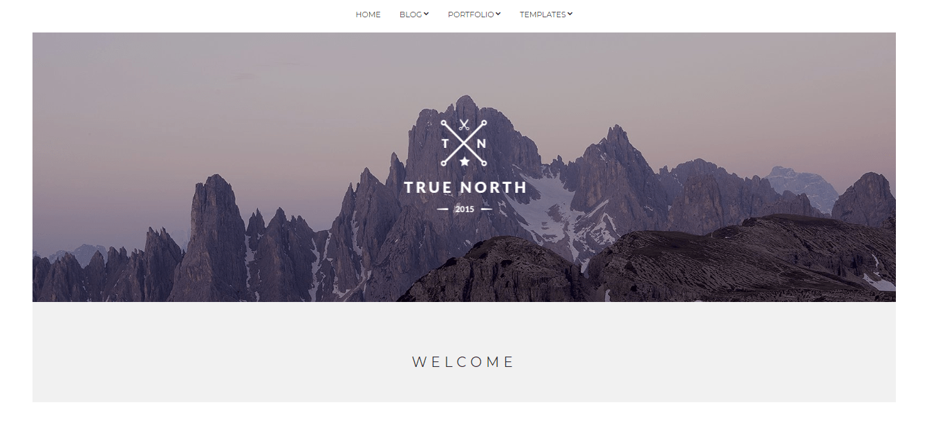 true north wordpress theme