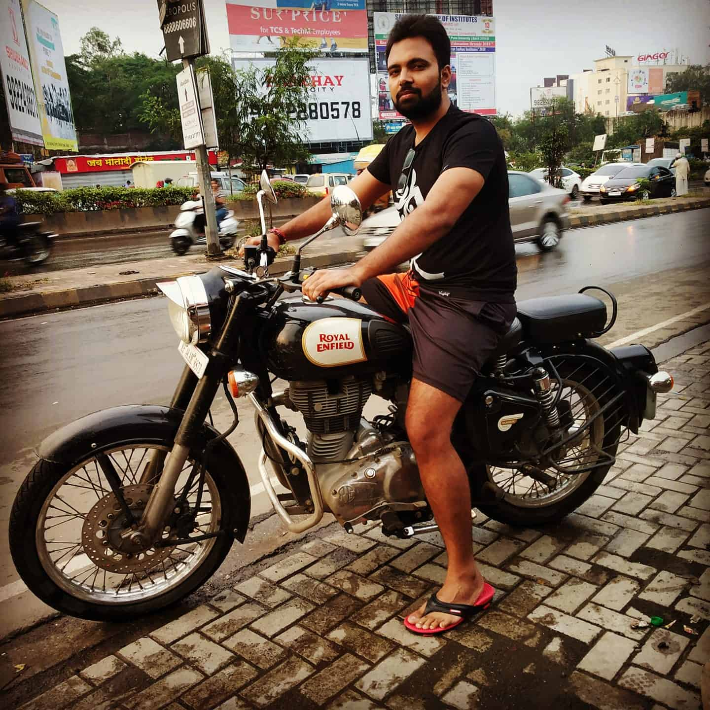 Amit Mishra blogger youtuber tryootech bike lifestyle