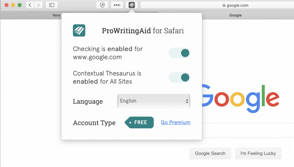 prowritingaid for browsers