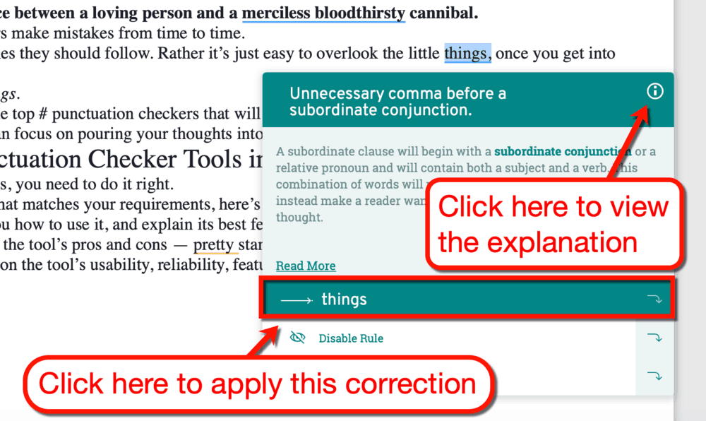best punctuation checker tool