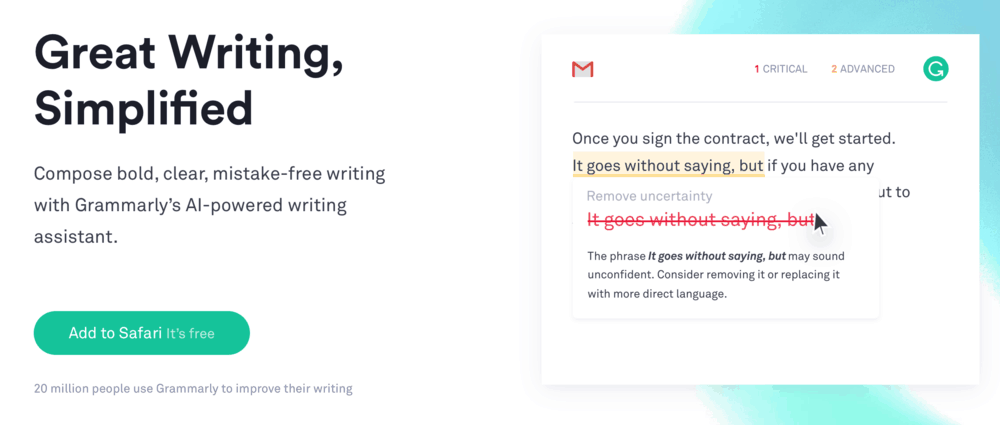 grammarly ai powered writing assistant