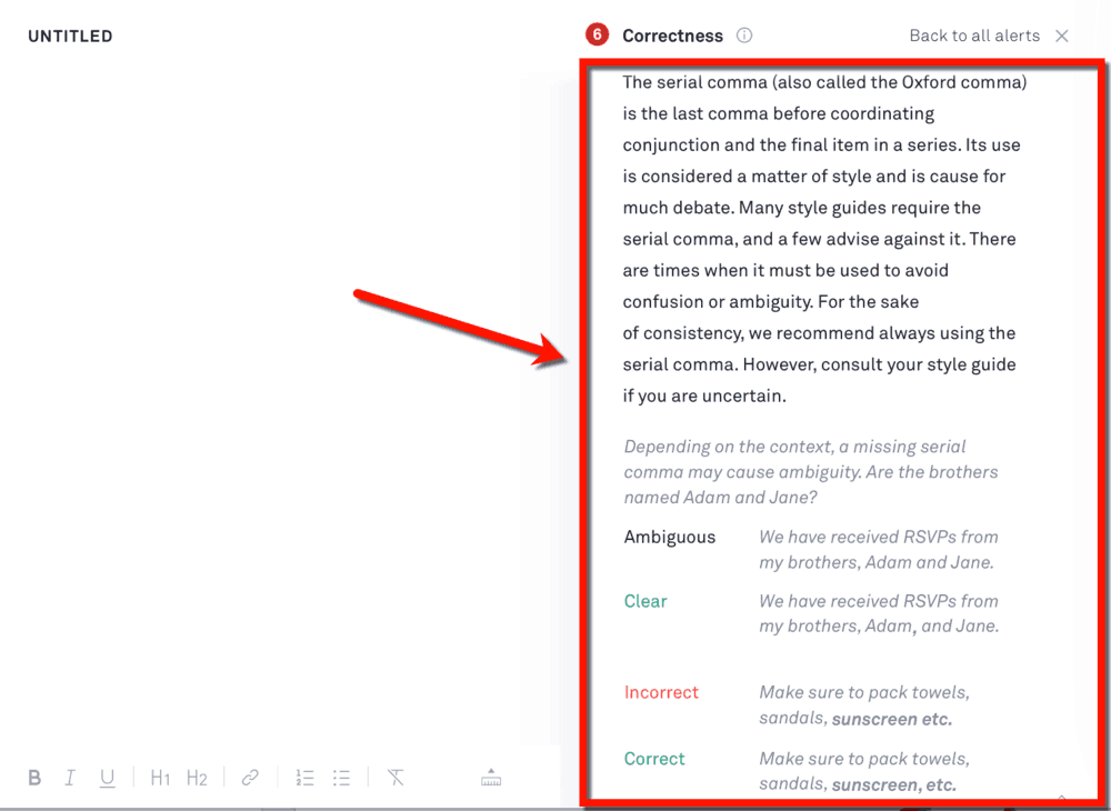 grammarly error checker