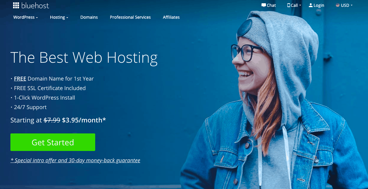 Bluehost hosting discount