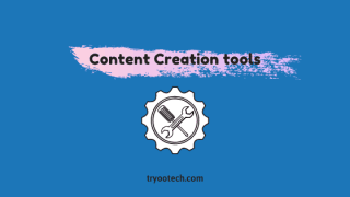 Content Creation tools