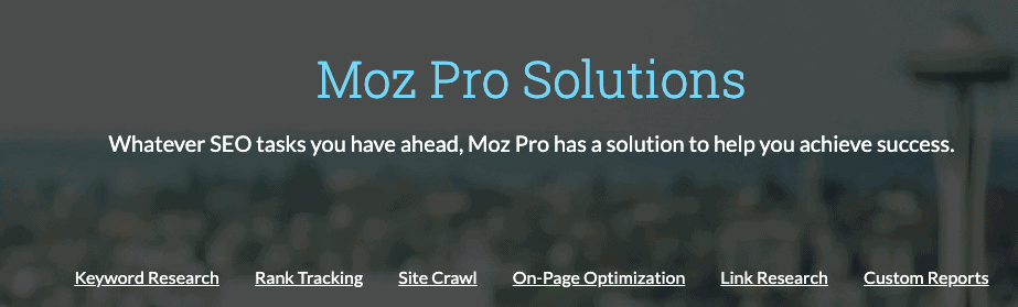 features of moz