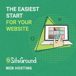 how to start blog with siteground