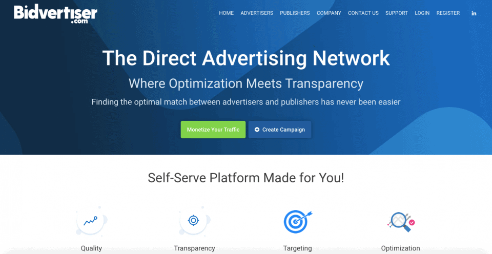 BidVertiser affiliate program