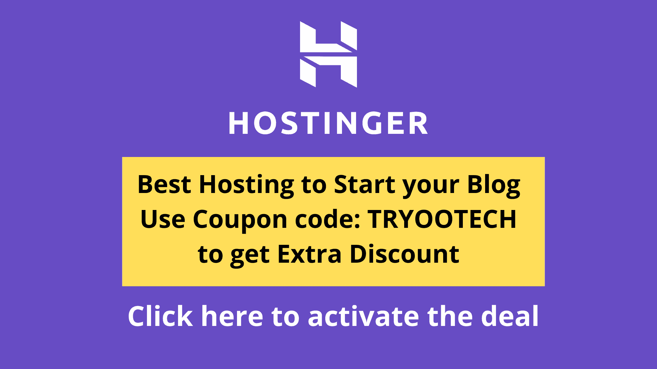 Hostinger discount with coupon code